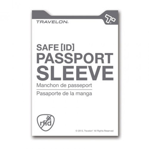 Travelon Set of 2 RFID Passport Sleeves (White)