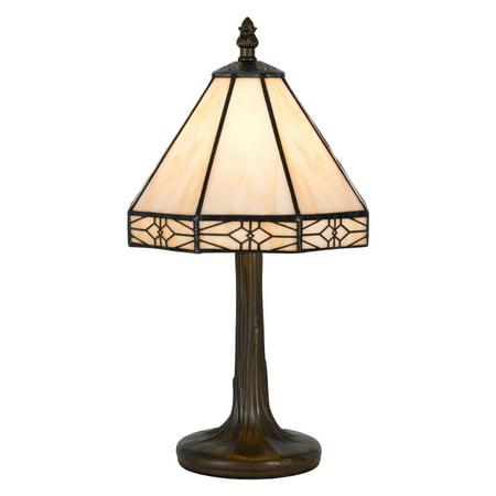 Cal Lighting Bo 2385ac Tiffany Accent Table Lamp
