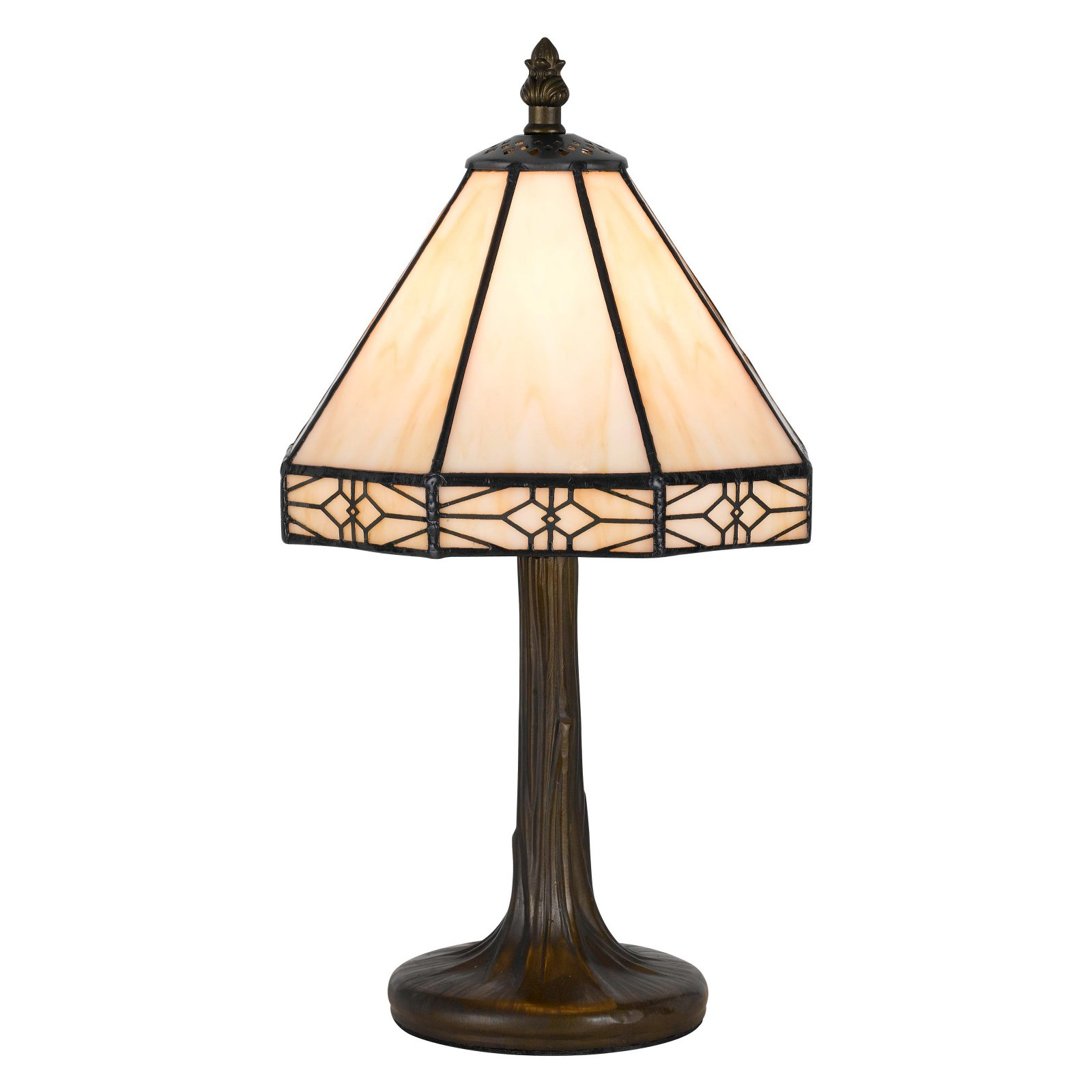 Cal Lighting BO-2385AC Tiffany Accent / Table Lamp