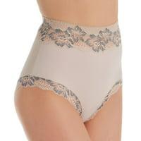 Women's Rhonda Shear 3870 Lace Trim Panty