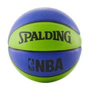 "Spalding NBA Mini 22"" Basketball - Blue/Green"