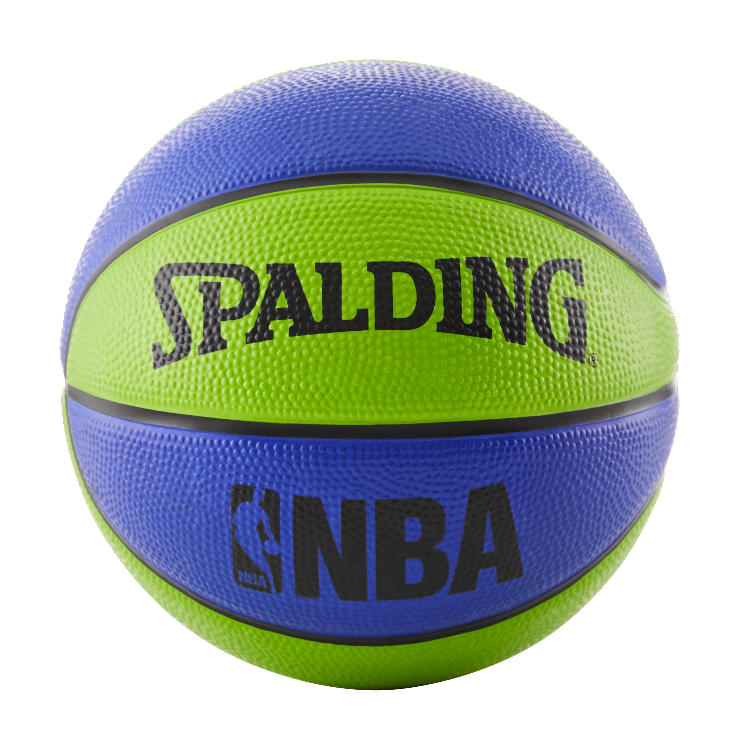 "Spalding NBA Mini 22"" Basketball - Blue/Green"