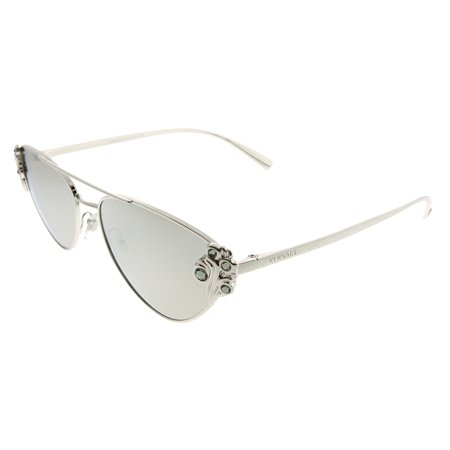 b21d6b780fa Versace - Versace VE 2195B 10006G Womens Cat-Eye Sunglasses - Walmart.com