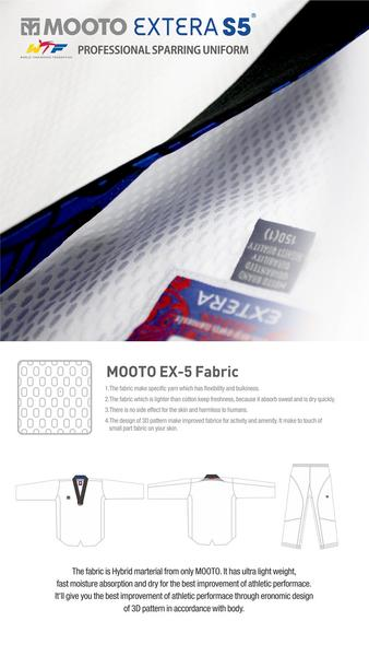 Mooto Extera S5 Uniform Black Neck