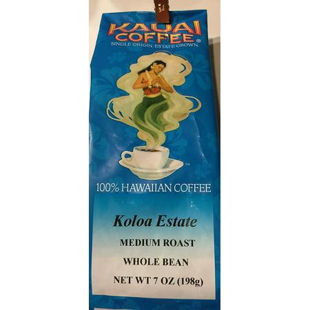Kauai Coffee Co. Medium Roast Whole Bean Coffee (Best Way To Store Whole Coffee Beans)