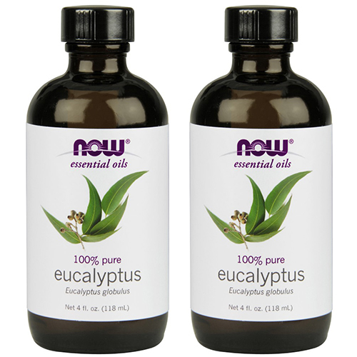 NOW Foods Eucalyptus Globulus Oil, 4 Fluid Ounce (2 Pack)