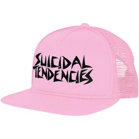 31c2acf7e55 Suicidal Tendencies - Suicidal Tendencies Men s Trucker Cap Pink -  Walmart.com