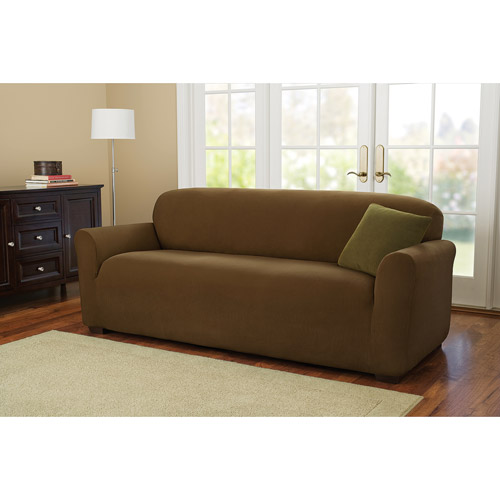 Better Homes and Gardens One-Piece Stretch Fine Corduroy Sofa Slipcover