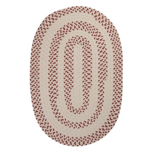 Colonial Mills EM79R Elmwood Braided Rug - Rosewood