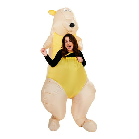 Kangaroo Inflatable Adult Halloween Costume