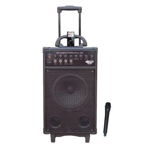 600 Watt VHF Wireless Portable PA System/Echo w/iPod Dock