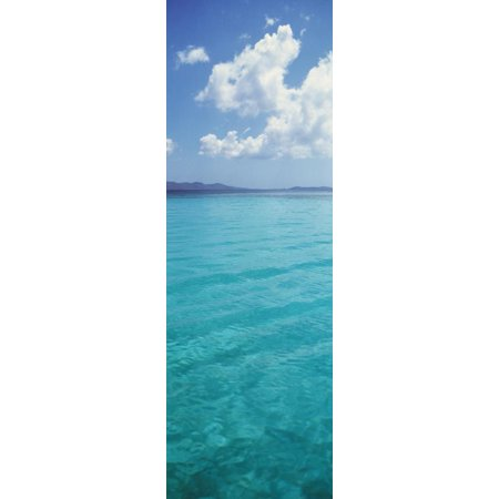 Clouds over the Sea, St. Thomas, US Virgin Islands Print Wall