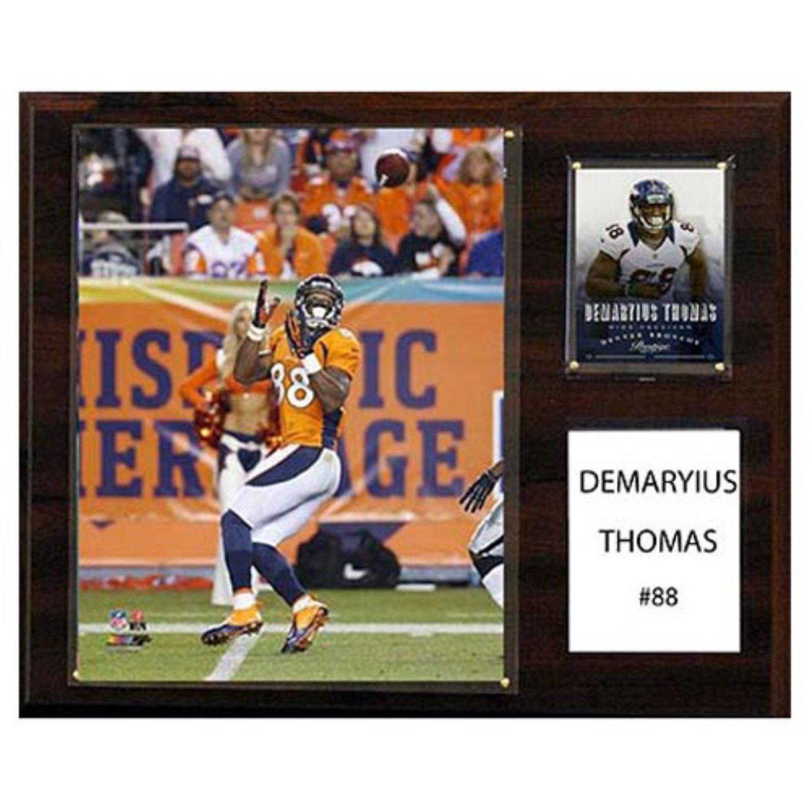 "C & I COLLECTABLES NFL 12""x 15"" Demaryius Thomas Denver Broncos Player Plaque"