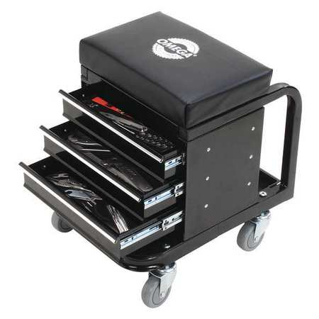 450 Lbs. Creeper Seat Tool Box