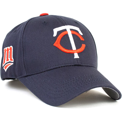 MLB Twins Brush Cotton Cap