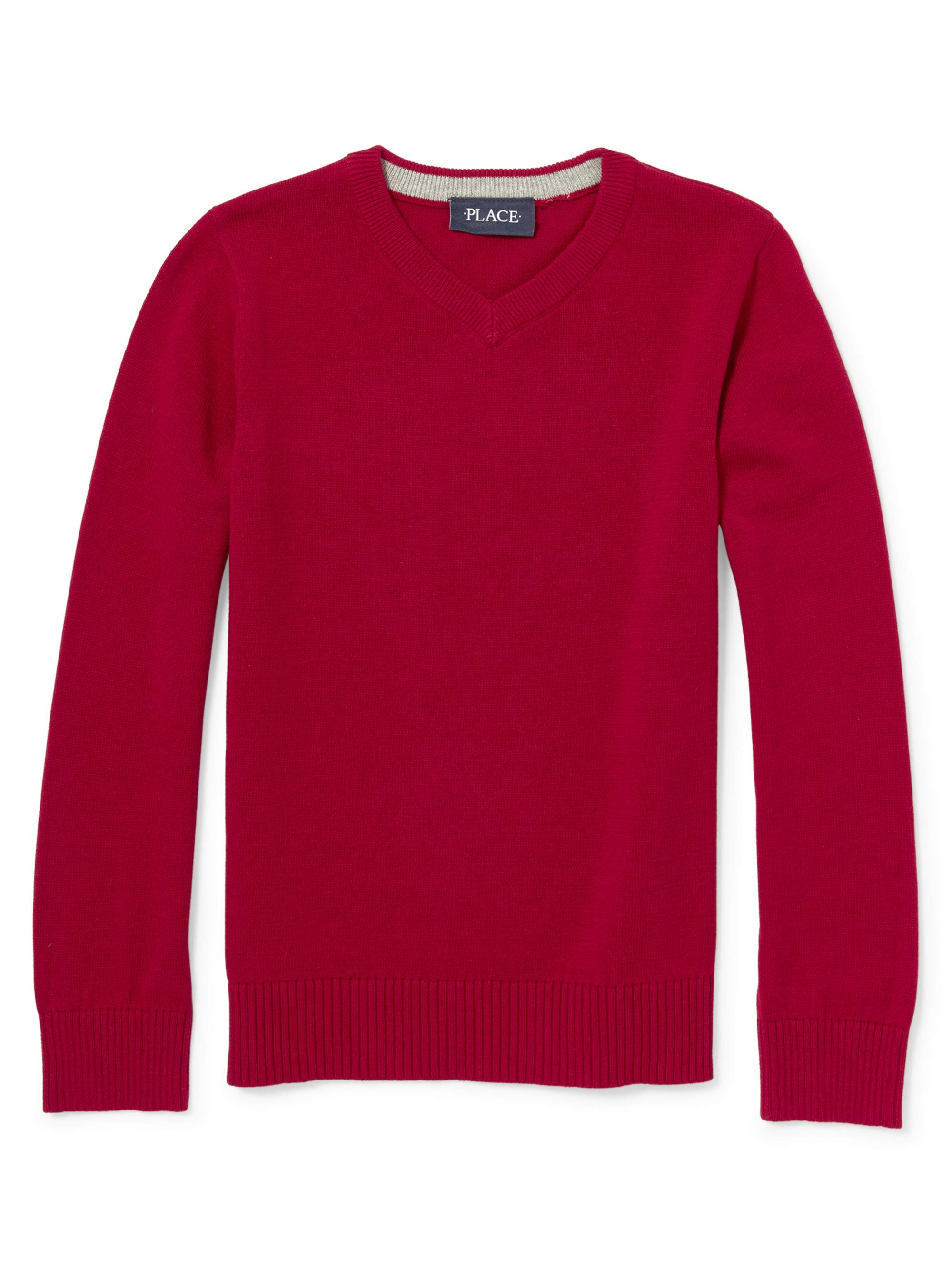 Pull Over Vneck Sweater (Little Boy & Big Boy)