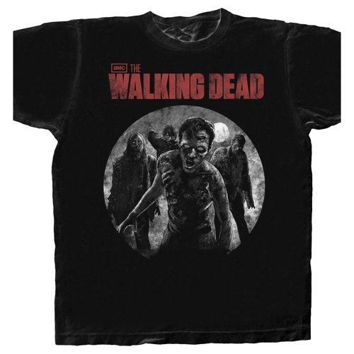 Walking Dead Approaching Walkers Tee Shirt