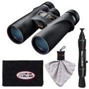 Nikon Monarch 3 10x42 ATB Waterproof/Fogproof Binoculars with Case + Cleaning & Accessory Kit