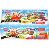 Apple & Eve Juice Box Variety Pack, 6.75 Fl Oz, 32 Count