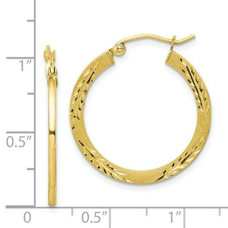 876cb69e90288 10k Yellow Gold Hoop Earrings Ear Hoops Set Fine Jewelry Gifts For ...