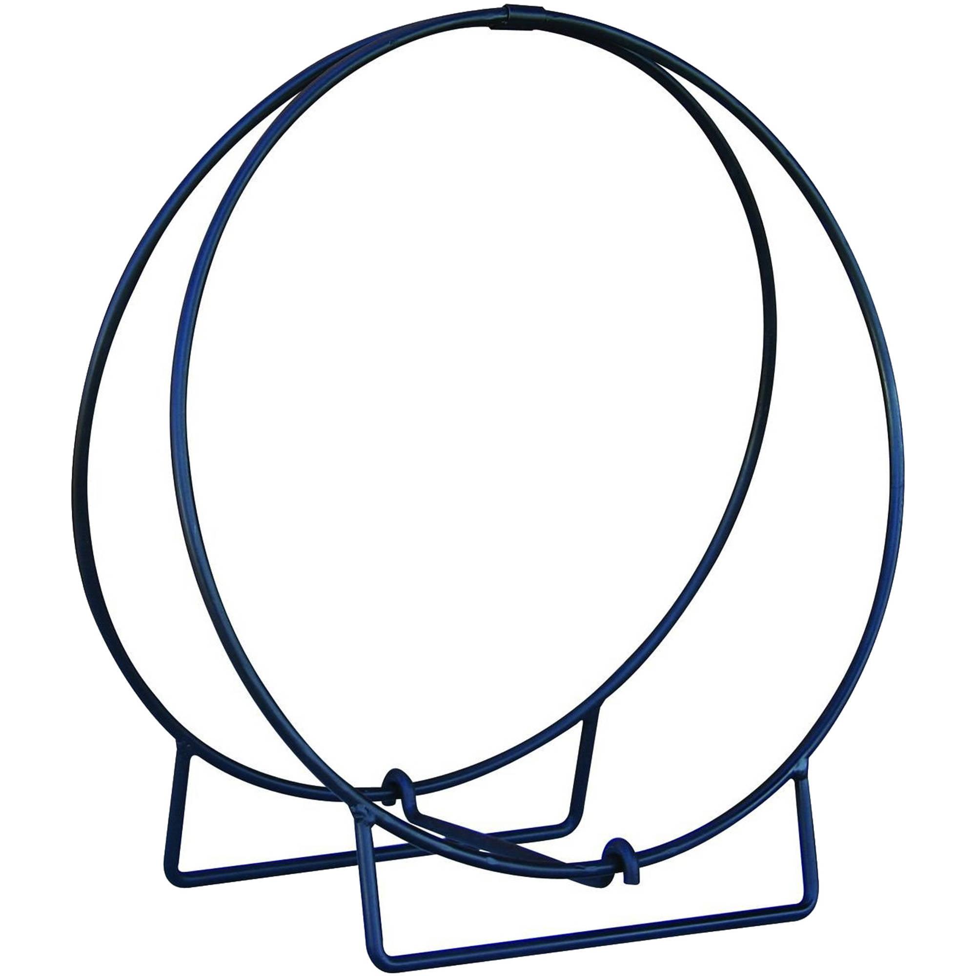UniFlame 36-Inch Diameter Firewood Hoop, Black
