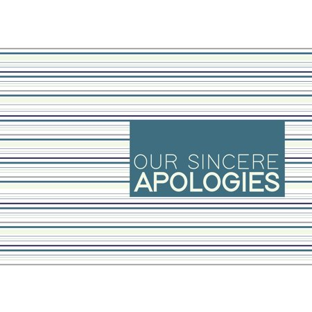 Ceo cards apology greeting card box set of 25 cards 26 envelopes ceo cards apology greeting card box set of 25 cards 26 envelopes ap1801 m4hsunfo