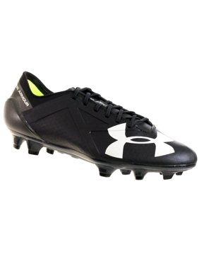 e9d74d66b149 Product Image UNDER ARMOUR MEN'S TEAM SPOTLIGHT FG SOCCER CLEATS BLACK  GRAPHITE WHITE 9.5