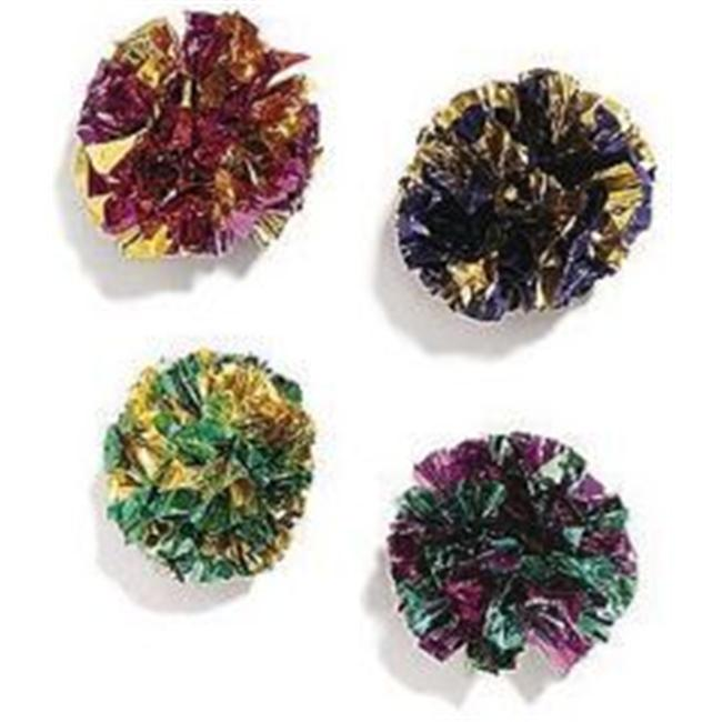 Ethical Cat Mylar Balls 1.5 Inch 4 Pack - 2131