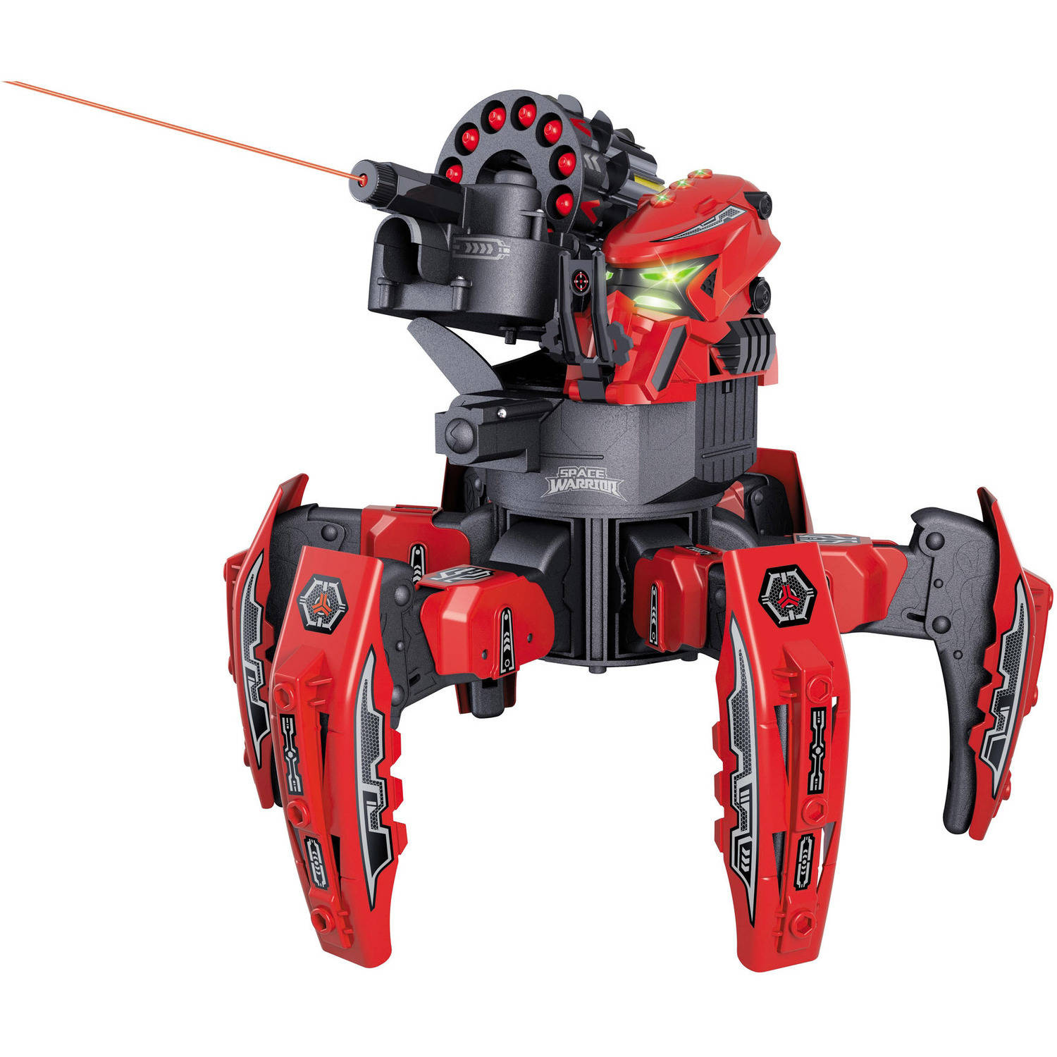 Riviera RC Space Warrior battle Robot with Remote Control, RED by Creative Sourcing International
