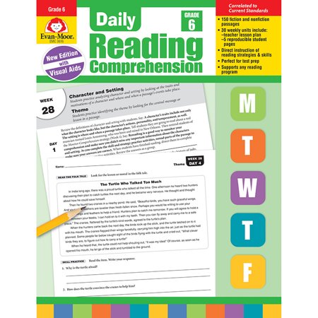 Daily Reading Comprehension, Grade 6 (Reading Halloween Comprehension)