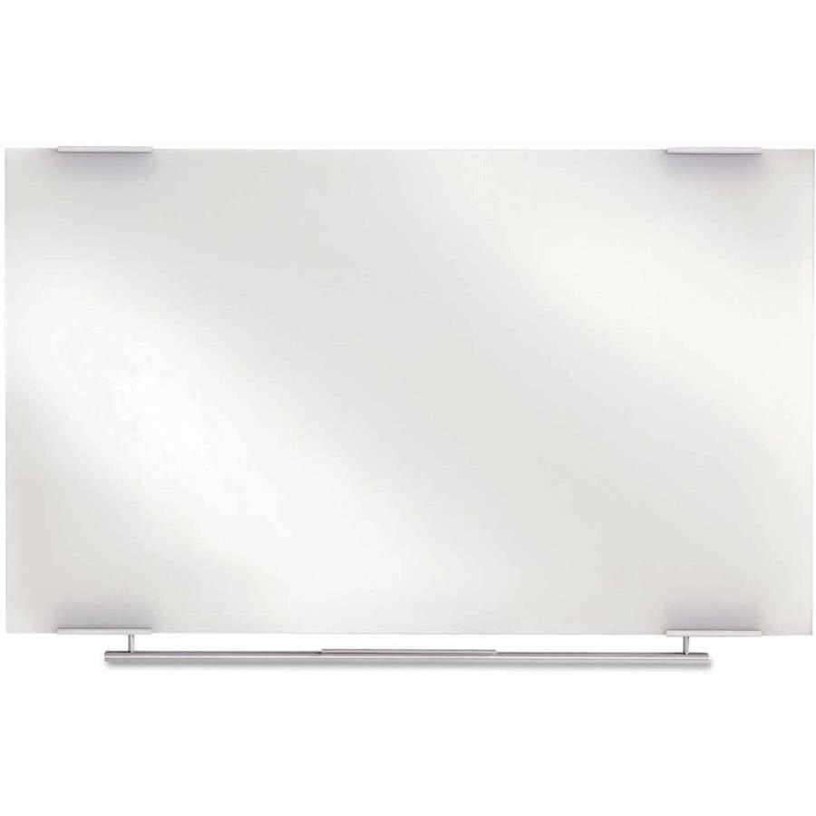 "Iceberg Clarity Glass Dry Erase Boards, Frameless, 48"" x 36"