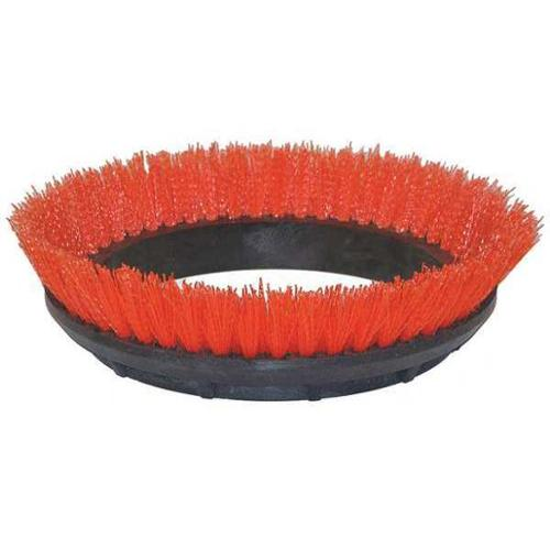 BISSELL COMMERCIAL 237.047BG Scrubbing Rotary Brush,Orange,12 in. G3101187