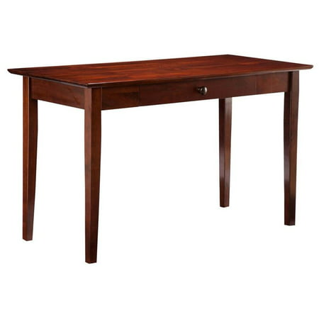 Atlantic Furniture Shaker Writing Desk in Walnut