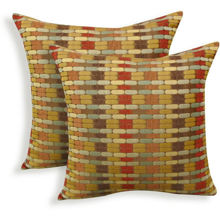 Better homes and gardens golden bricks decorative throw - Better homes and gardens pillows ...