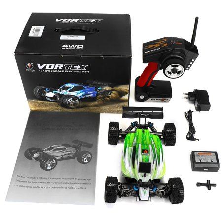 Wltoys A959-B 1/18 2.4G 4WD 70km/h Electric Off-Road RC Car Buggy High Speed + Control Upgraded Version Toy Christmas Birthday Gift