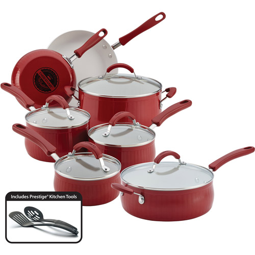 Farberware 14-Piece New Traditions Cookware Set