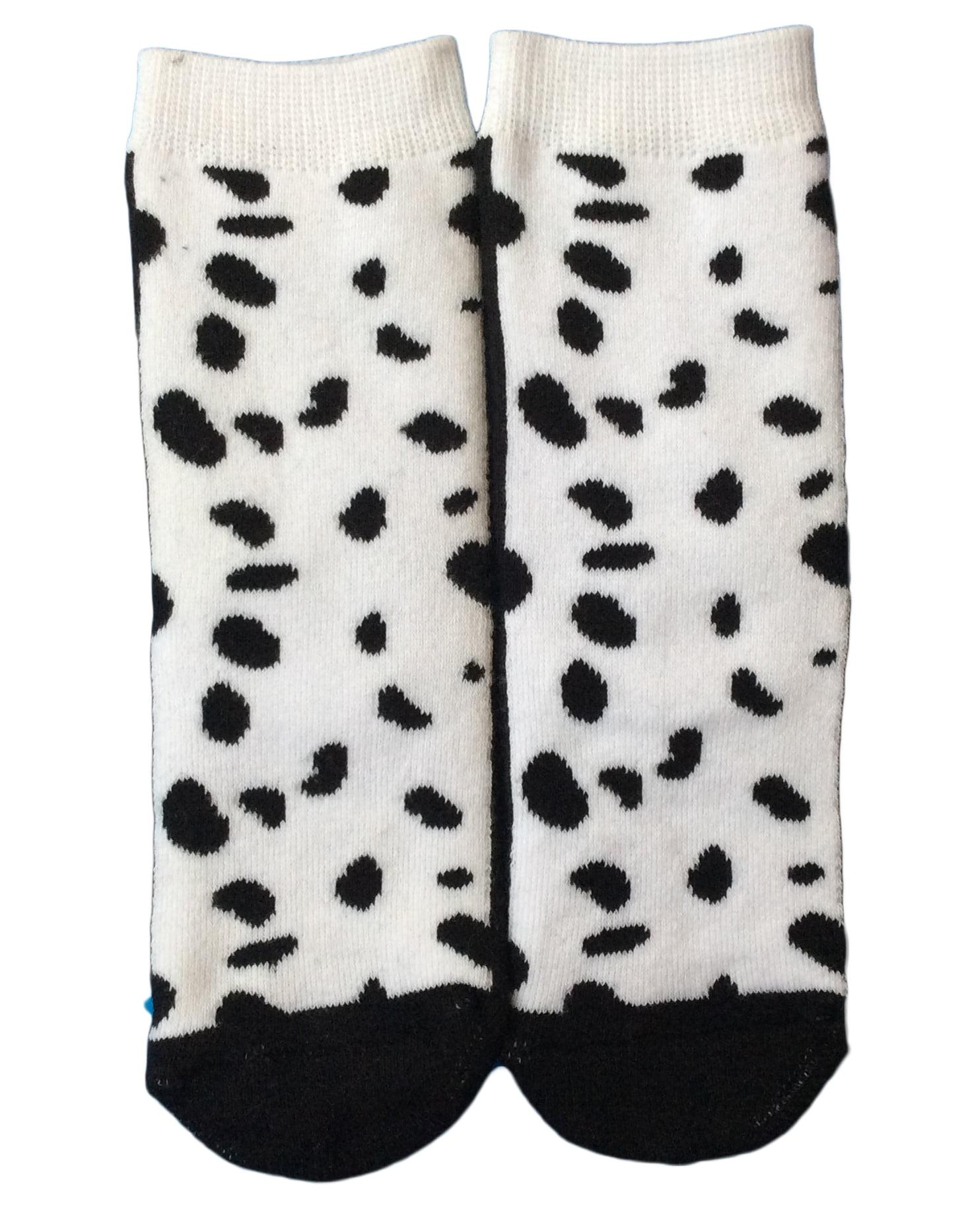 LovelyAnnie Unisex Children 3 Pairs Pack Non Slip Combed Cotton Socks 6M-12M Multi Color