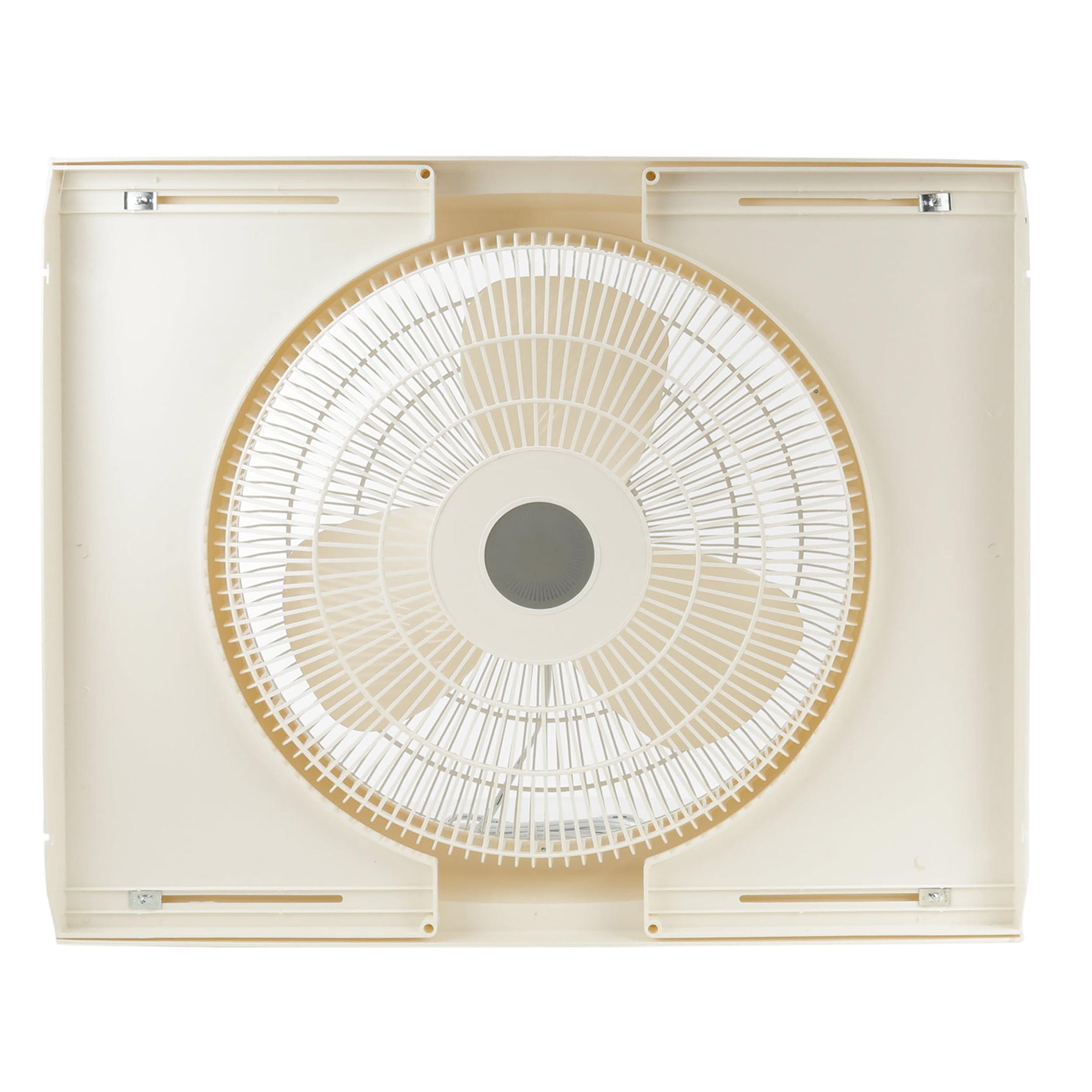 """Lasko 16"""" Electrically Reversible Window 3-Speed Fan, Model #2155A, White"""