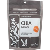 Navitas Naturals Raw Chia Seeds, 8 Oz (Pack Of 12)