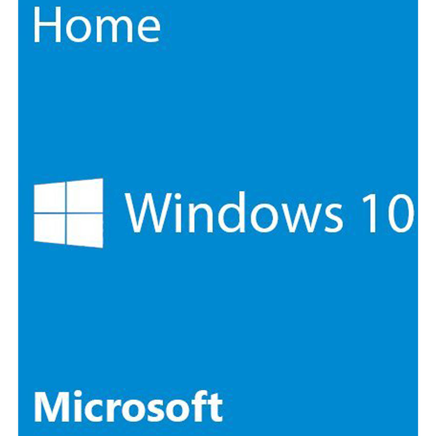 Microsoft Windows 10 Home 64-bit (OEM Software) by Microsoft