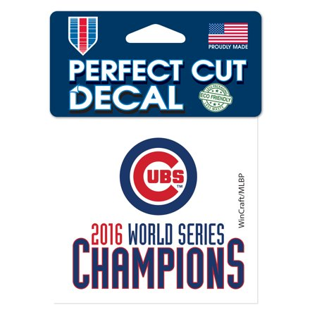 Chicago Cubs WinCraft 2016 World Series Champions 4