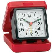 Impecca WAW25M1RK Travel Beep Alarm Clock Red/black