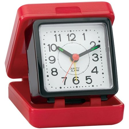 impecca waw25m1rk travel beep alarm clock red black. Black Bedroom Furniture Sets. Home Design Ideas