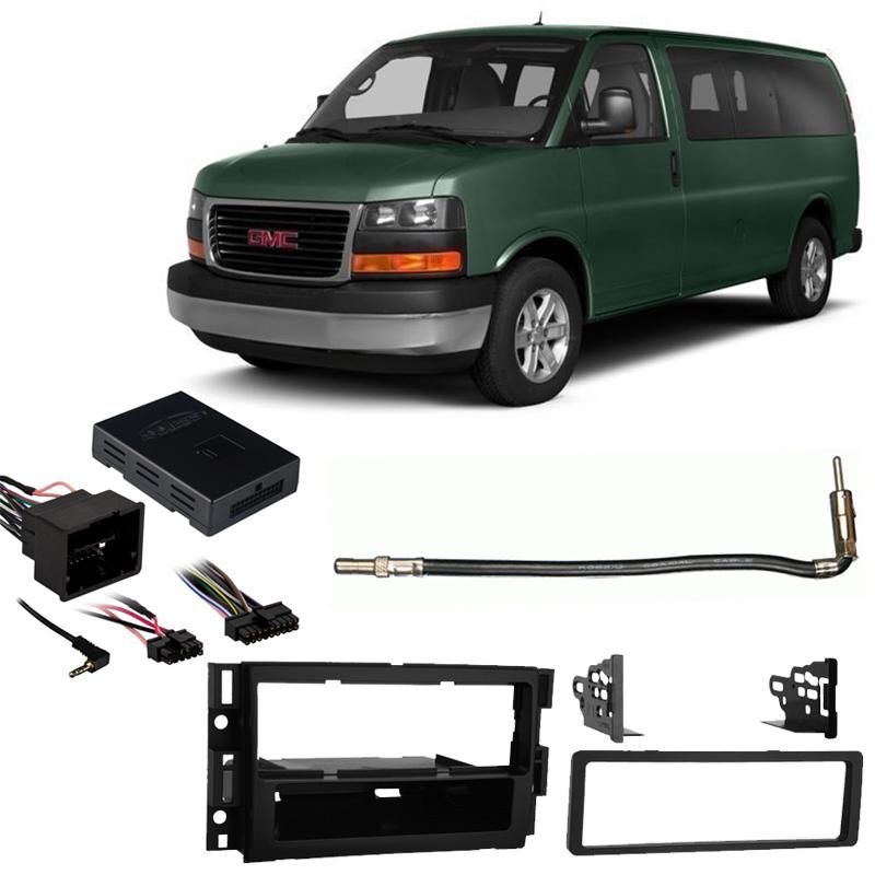 GMLAN Radio Replecement Interface /& Dash Mounting Kit for GM Vehicles w//OnStar