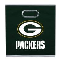 Franklin Sports NFL Green Bay Packers Collapsible Storage Bin