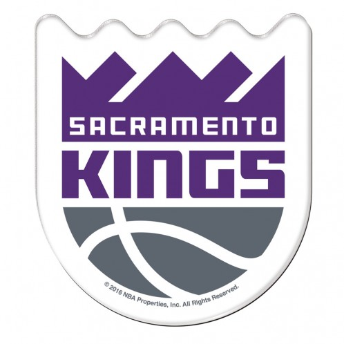Sacramento Kings Official NBA 2.5 inch  Acrylic Magnet by WinCraft