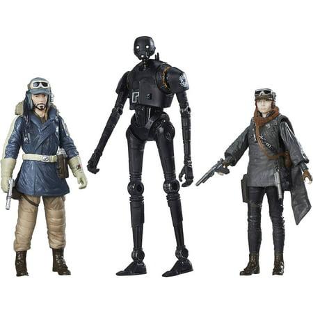 Star Wars Rogue One Rebel Figure 3pk, Walmart Exclusive for $<!---->