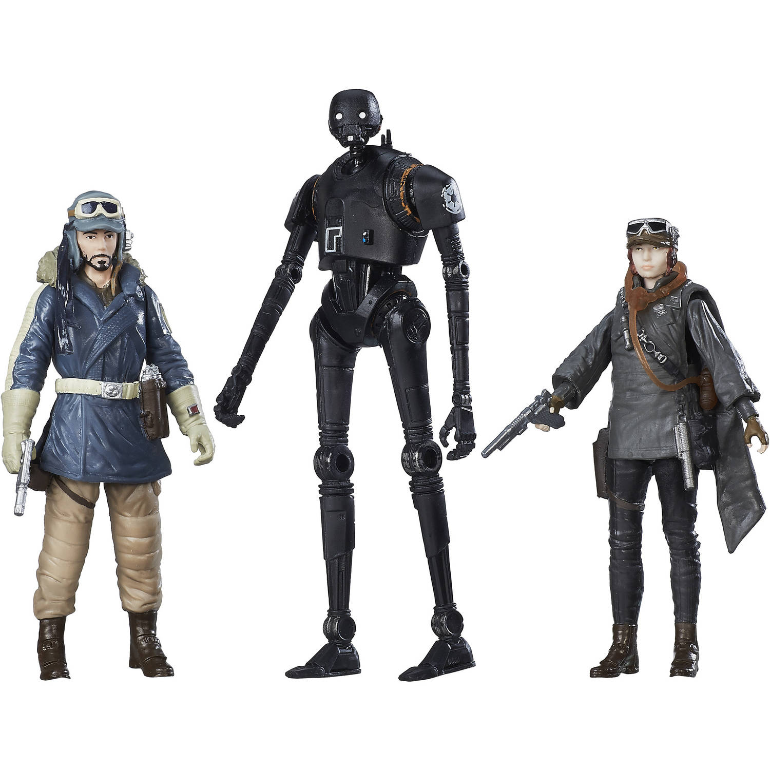 Star Wars Rogue One Rebel Figure 3pk, Walmart Exclusive