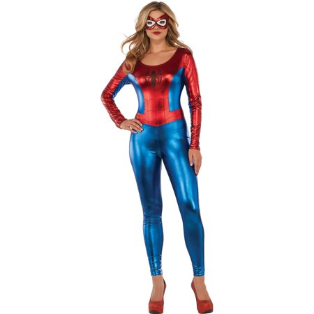 Womens Sexy Spider Girl Catsuit - Catsuit Man