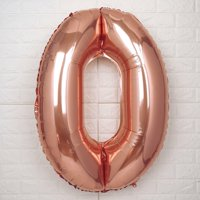 "Efavormart Rose Gold 40"" tall Letter Foil Balloons Party Wedding Decorations Graduation New Year Eve Party Decoration"